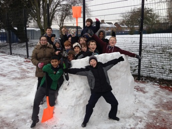 Proud of our igloo!