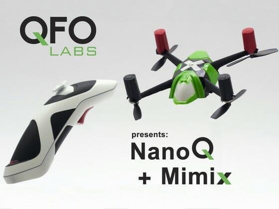 Недорогой квадракоптер NanoQ