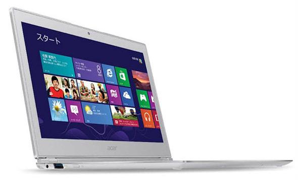 Ультрабук Acer Aspire S7-191-F74Q с тачскрином на Windows 8