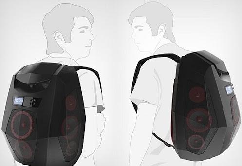 Boompack музыкальный рюкзак