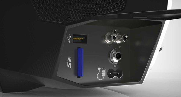 рюкзак 32 Гб встроенной памяти и оборудован слотом для SD