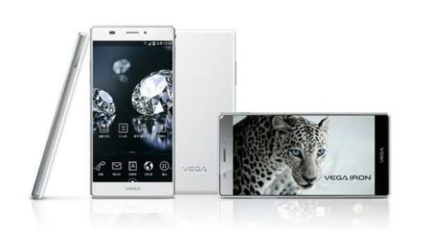 Pantech анонсировала смартфон Vega Iron со сверхтонкой кромкой экрана