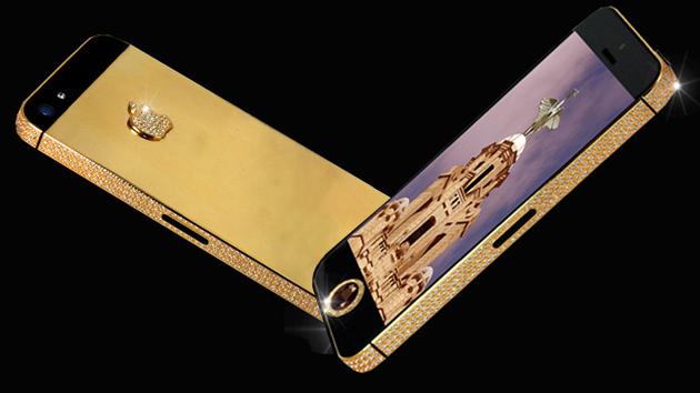 Бриллиантовый iPhone 5 за 15 миллионов долларов!