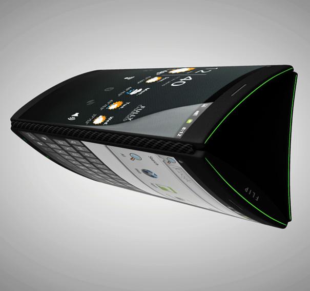 Flip Phone — концепт мобильника с тремя дисплеями