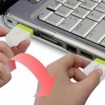 Вставить правильно USB «вслепую» — очень просто