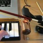 Деревянный смычок + лазерный датчик = O-Bow
