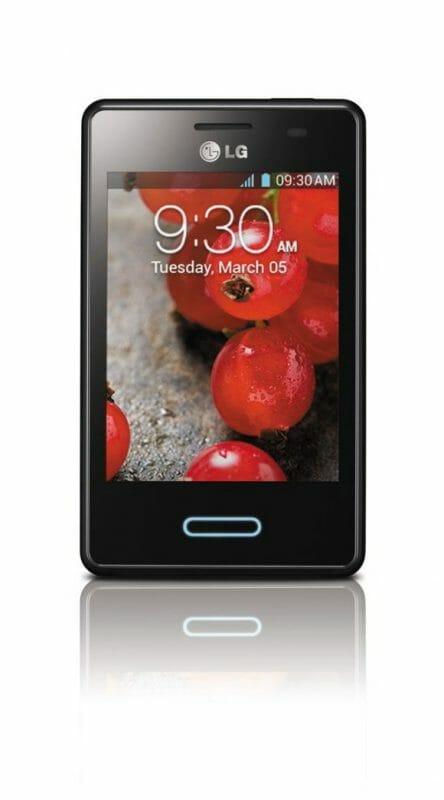 LG пополнила серию Optimus L новым смартфоном