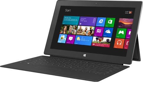 Microsoft работает над созданием второго поколения Surface