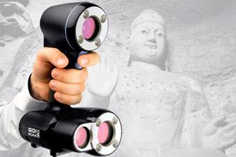 Go!Scan 3D — ручной 3D-сканер за 25000$