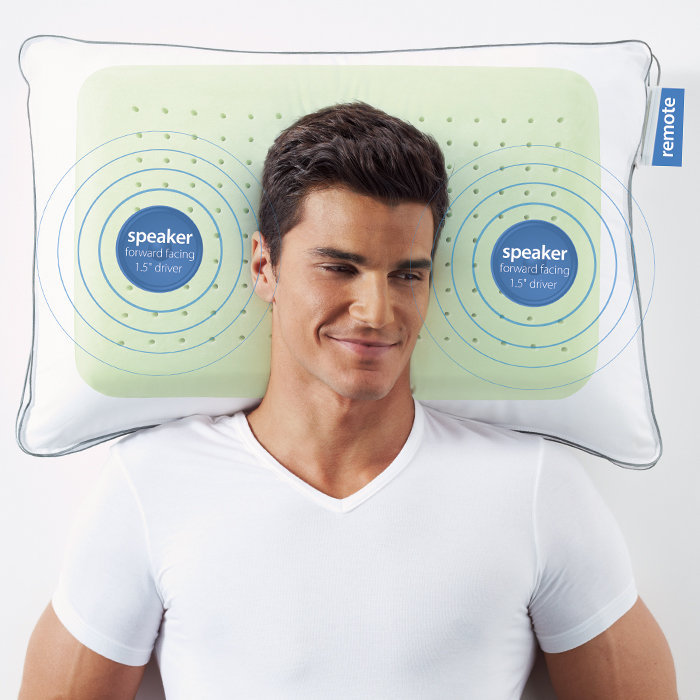 SoftSound Pillow Speaker