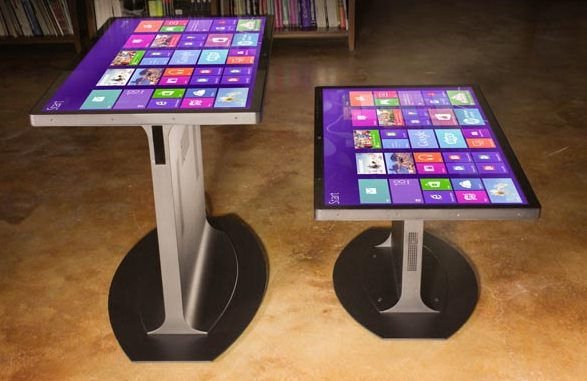 Планшеты-столы с диагональю в 46 дюймов на восьмой версии Windows скоро начнут продаваться