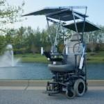 Студенты создают инвалидную коляску на солнечных батареях