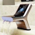 SmartFaucet – миникомпьютер для ванной комнаты.