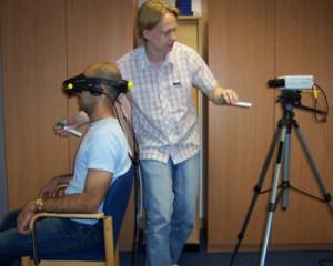 Эксперимент с VR гарнитурой