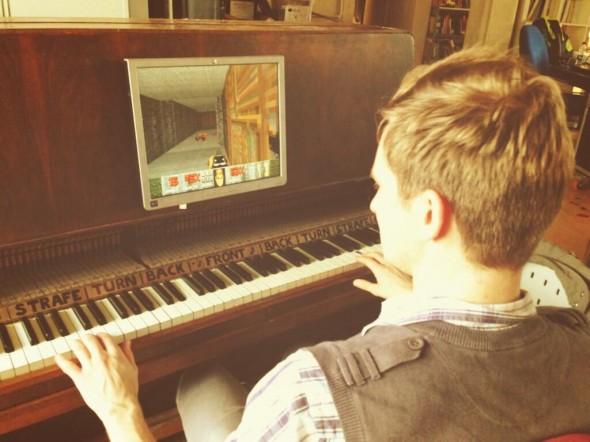 Пианино-контроллер