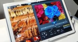 Panasonic готовится показать 20-дюймовый планшет с разрешением 4K