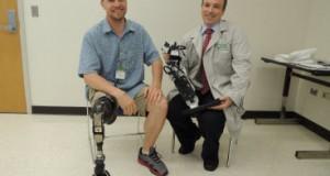 В Институте реабилитации Чикаго разработана мыслеуправляемая бионическая нога