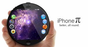 iPhone Pi – футуристический смартфон в форме круга