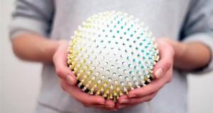 3D-печатная сфера Stressball поможет бороться со стресом