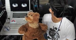 Роботизированный мишка VRTeddy стал средством общения на расстоянии