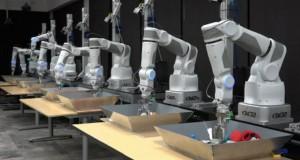 Google научит роботизированные руки самообучаться