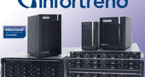 Новую линейку горизонтально масштабируемых хранилищ NAS представила Infortrend