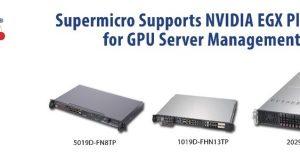 Supermicro успешно сотрудничает с инновационной платформой NVIDIA EGX