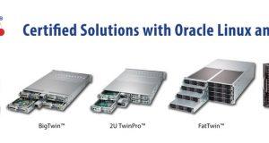 Supermicro представляет новые решения, оптимизированные под нагрузки Oracle