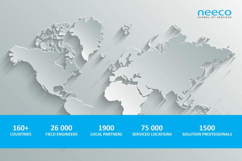 Услуги клиентам компании Neeco оказывают 26 000 инженеров и сотрудников