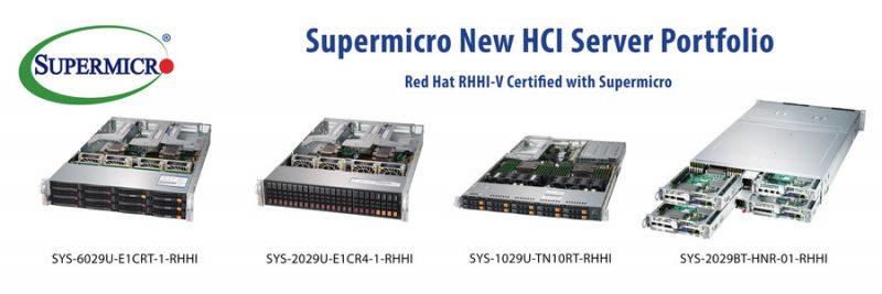 Ряд HCI-решений на базе платформы Red Hat представила Supermicro