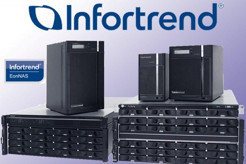Функцию балансировки нагрузки с помощью DNS-сервера получили NAS-хранилища Infortrend