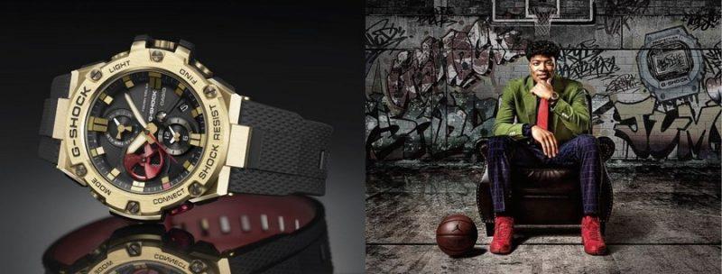 Casio выпустила часы, созданные в сотрудничестве с баскетболистом Руи Хатимурой