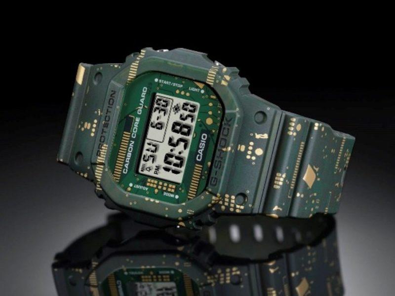 DWE-5600CC – первая модель G-SHOCK от Casio с заменяемыми ремешками и оправами