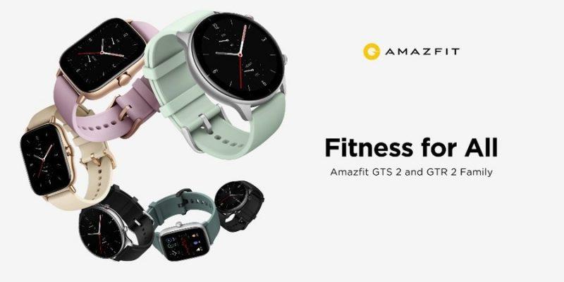 Универсальные смарт-часы Amazfit GTR 2e и GTS 2e оснащены новейшими функциями