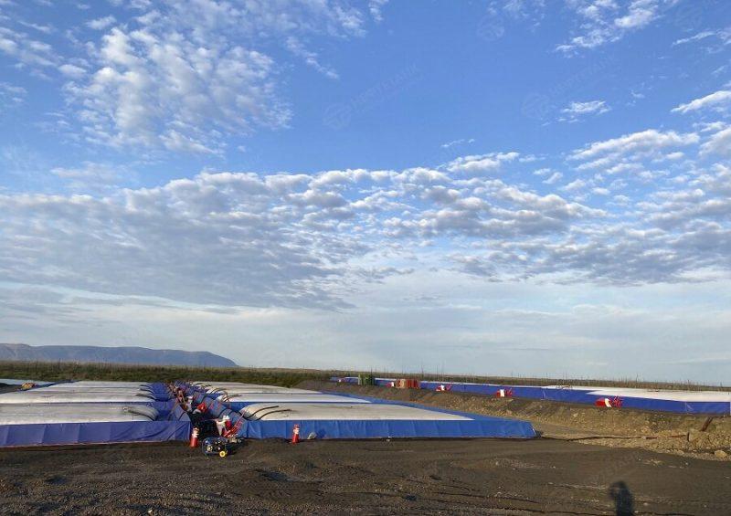 С ликвидацией в Норильске ЧС федерального масштаба помогла компания «Нефтетанк»