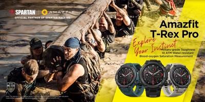 Умные часы Amazfit армейского стандарта — идеальный партнер военизированной гонки Spartan