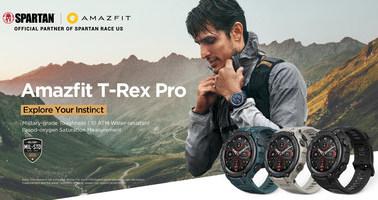 Amazfit T-Rex Pro: неубиваемые смарт-часы военной закалки с выносливостью под стать своему владельцу и 18-дневным запасом хода[1]