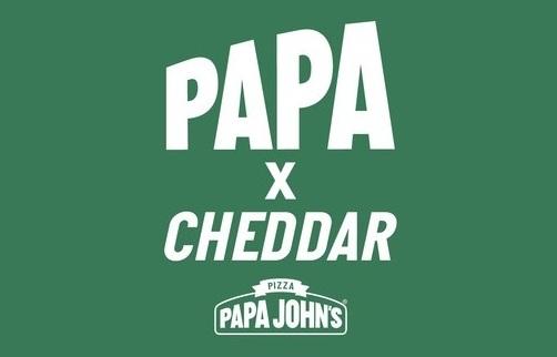 От шоссе до взлетной полосы: совместный проект Papa John's — Papa X Cheddar — вводит эксклюзивную форму водителя службы доставки пиццы