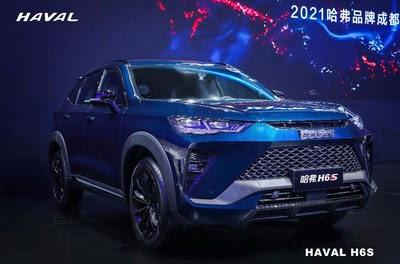 GWM впервые представляет новый купе класса SUV — HAVAL H6S с множеством ярких особенностей