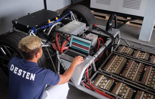 DESTEN представляет первую в мире технологию сверхбыстрой зарядки электромобилей