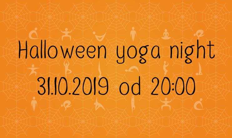 Carousel halloween yoga night 2019