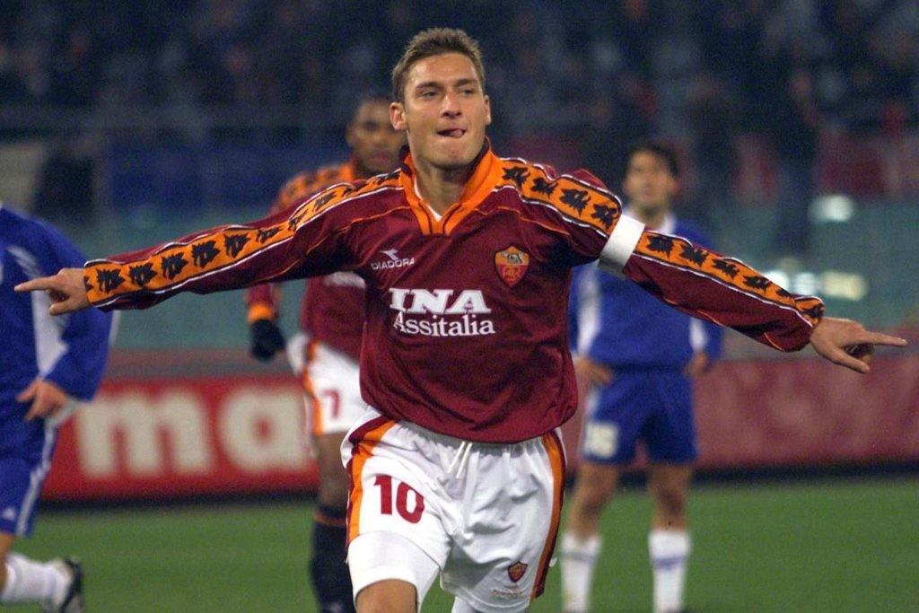 Kolega Mexesa z czasów Romy- Totti