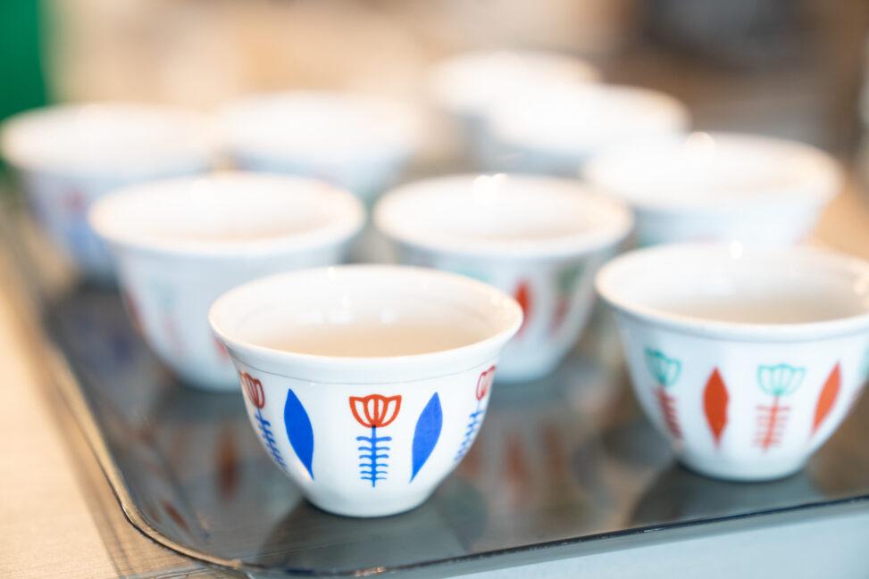 Kaffekopper, etiopisk kaffe