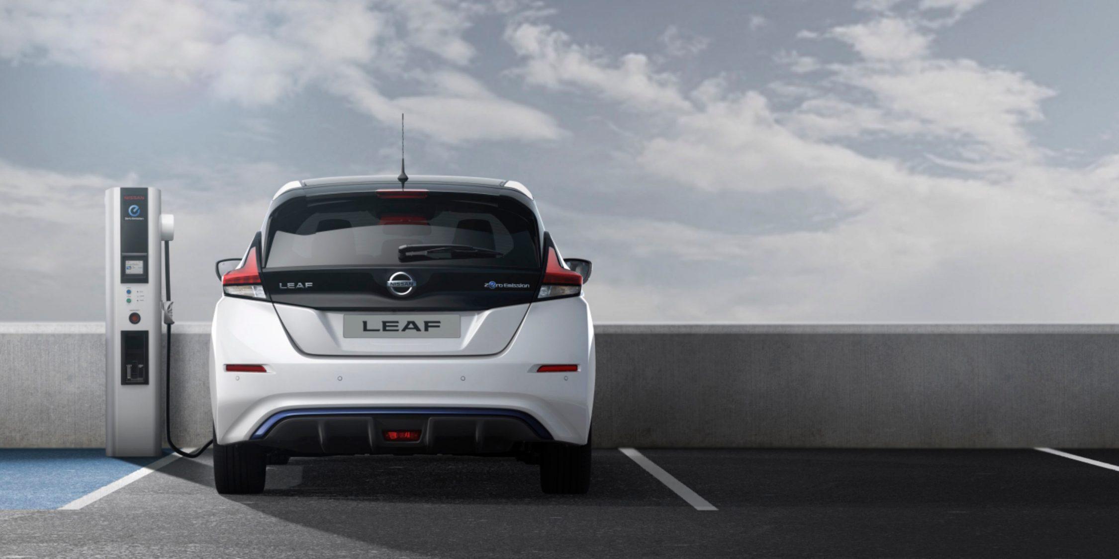 Snabbladda Nissan Leaf