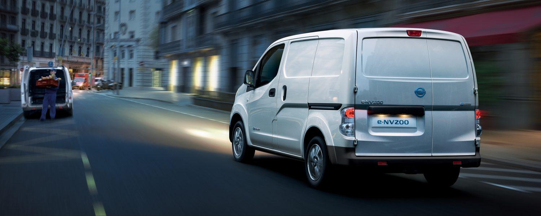 Utforska räckvidden för Nissan e-NV200
