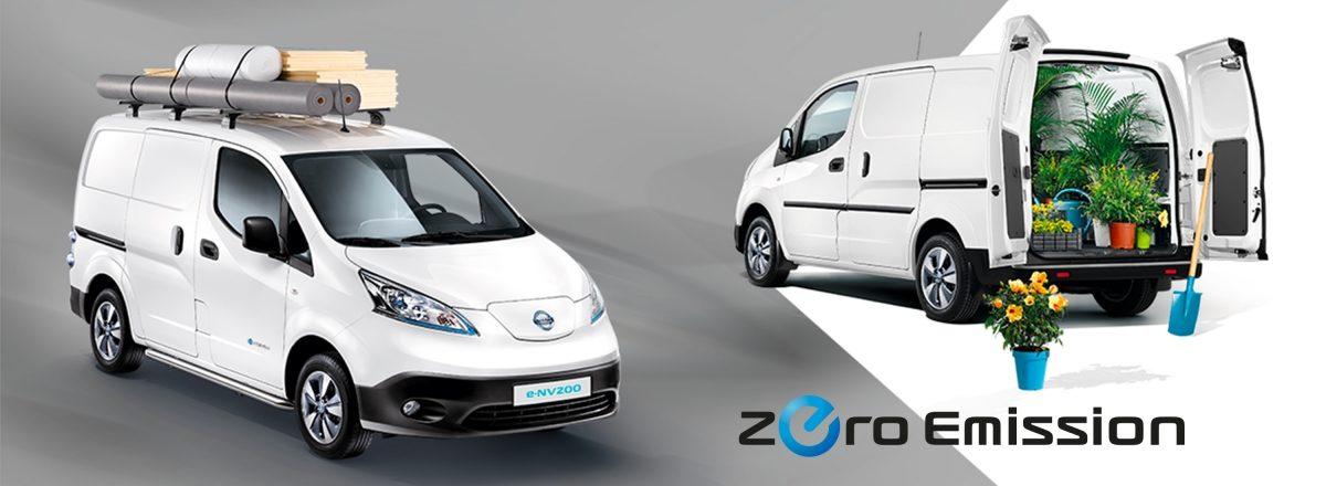 Välj 100 % eldrivna Nissan  e-NV200
