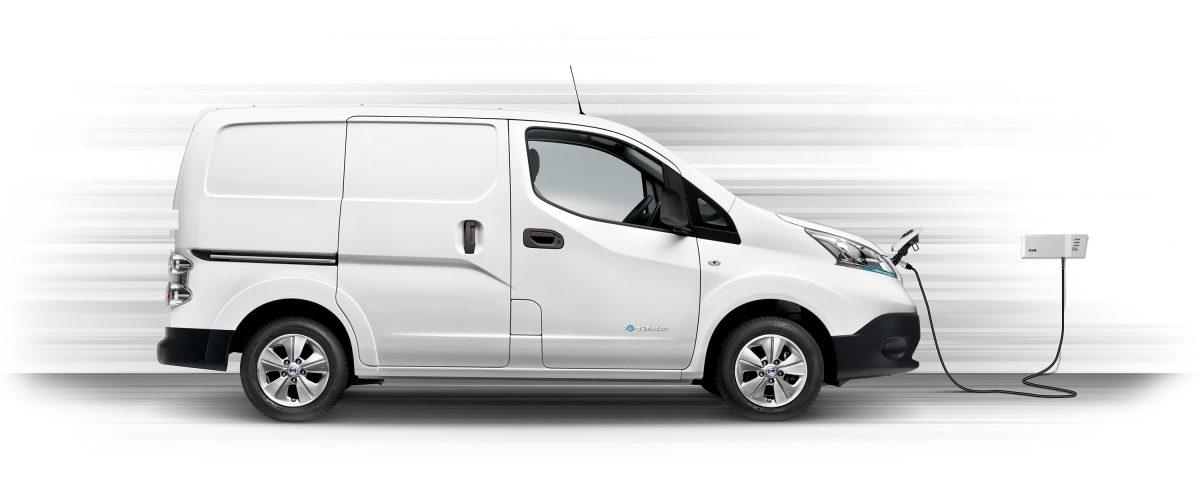 Nissan E-NV200 gör världen ljusare