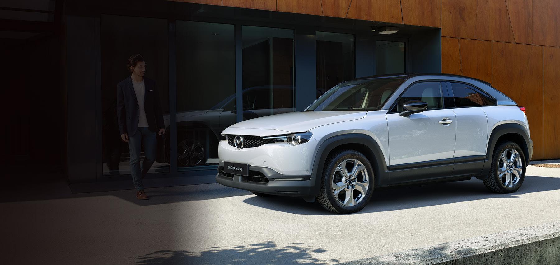 Helt nya, helt elektriska Mazda