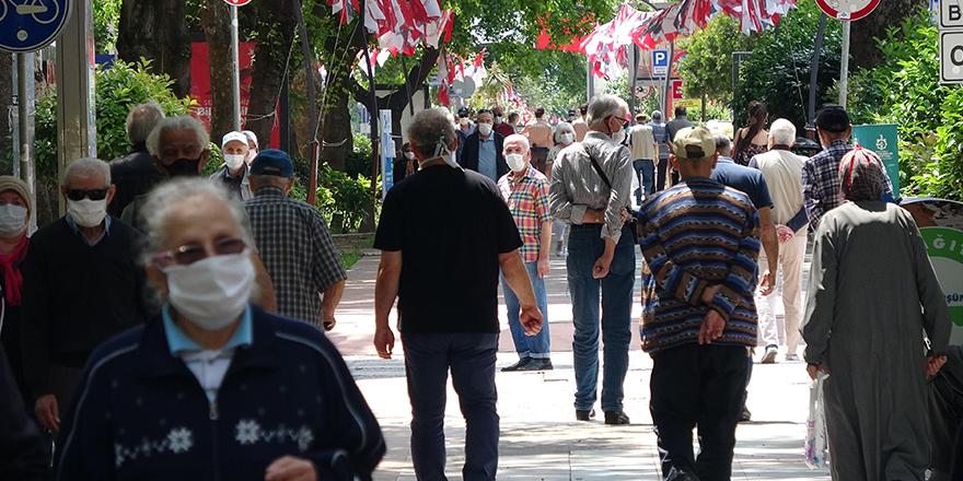 Boş sokaklar 65 yaş ve üzerindekilere kaldı