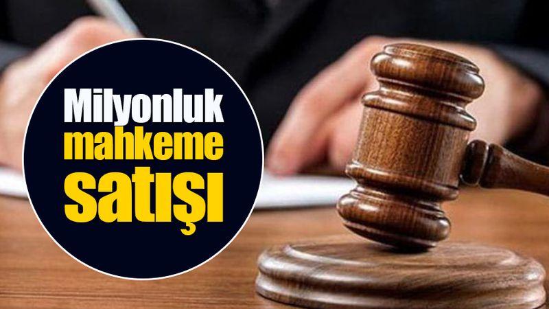 Kocaeli'de milyonluk mahkeme satışı